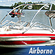 Airborne  wakeboard tower