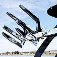 Racks  for wakeboard towers