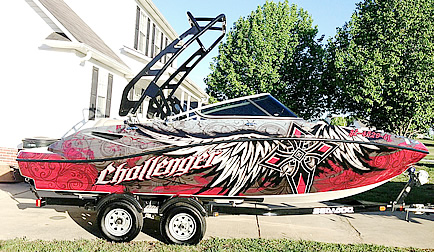 2010 Sea Doo 210 Challenger with FreeRide Wakeboard Tower
