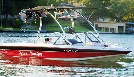 1991 Sport Nautique with Airborne Tower with Eclipse Bimini