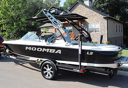Wakeboard Tower for Moomba Boat