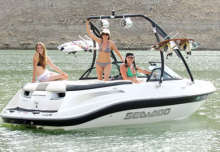 2005 Sea Doo Utopia 185 with Ascent Wakeboard Tower