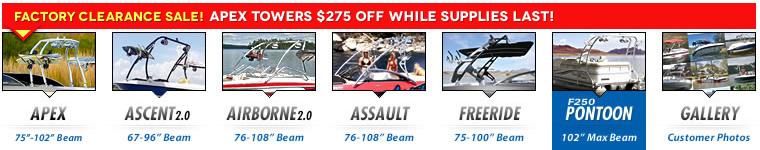 shop wakeboard tower models