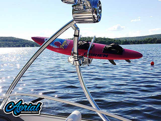 Ascent Tower Wakeboard Installed on Campion Allante 505ss Boat