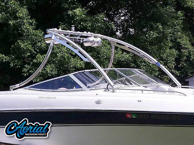 1996 Four Winns 200 Horizon Wakeboard Tower, speakers, racks, bimini