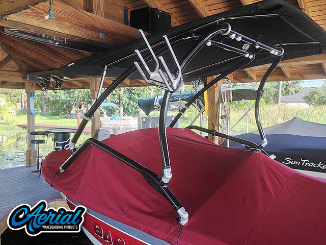Wakeboard tower for 1991 Barefoot/Excel with Airborne Tower with Eclipse Bimini