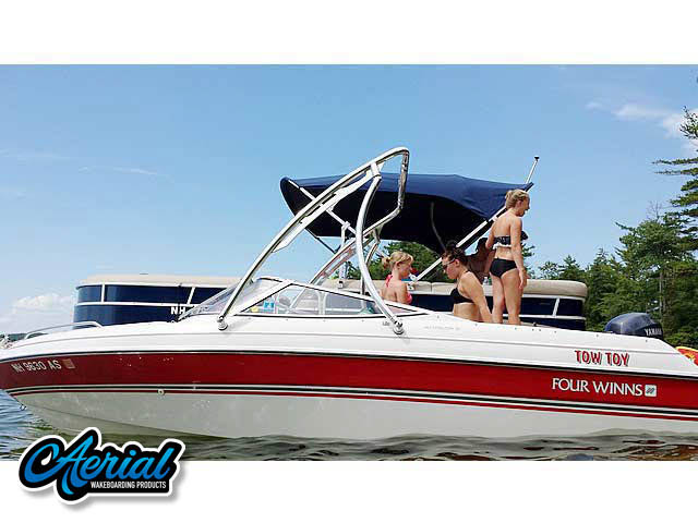 Wakeboard tower for 1994 Four Winns 180 Horizon SE (19') with Ascent Tower