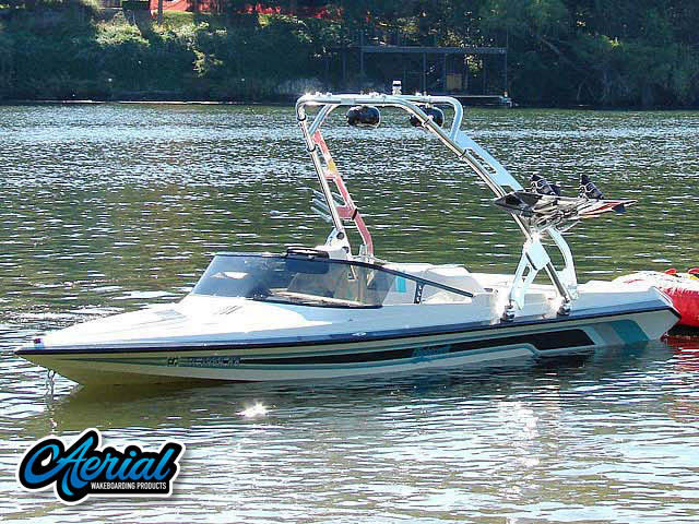 1993 Malibu Flightcraft Sportster Wakeboard Tower, speakers, racks, bimini