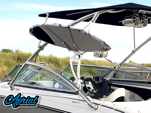 2009 Monterey 214 FS wakeboard tower, speakers, racks, bimini & lights