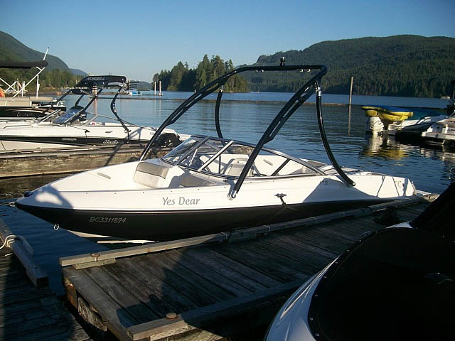 2012 175  Bayliner Wakeboard Tower, speakers, racks, bimini