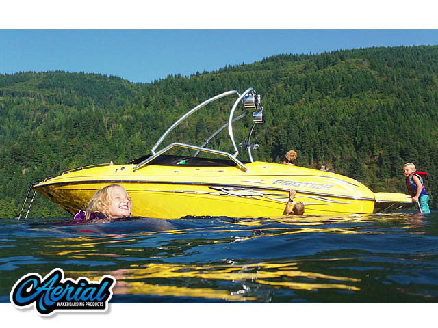 Wakeboard tower for 2008 Ebbtide 2240 Extreme with Airborne Tower