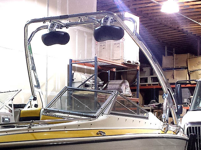 89 Galaxy Wakeboard Tower, speakers, racks, bimini