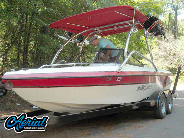 '94 Malibu Sunsetter Wakeboard Tower, speakers, racks, bimini