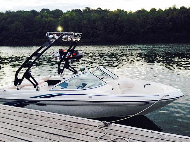 Wakeboard tower for 1998 Sea Ray 180BR with FreeRide Tower