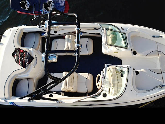 1998 Sea Ray 180BR Wakeboard Tower, speakers, racks, bimini