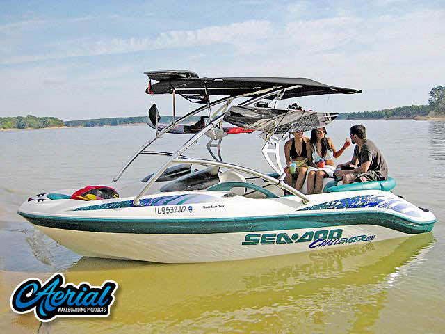 1998 Seadoo Challenger 1800  Wakeboard Tower, speakers, racks, bimini