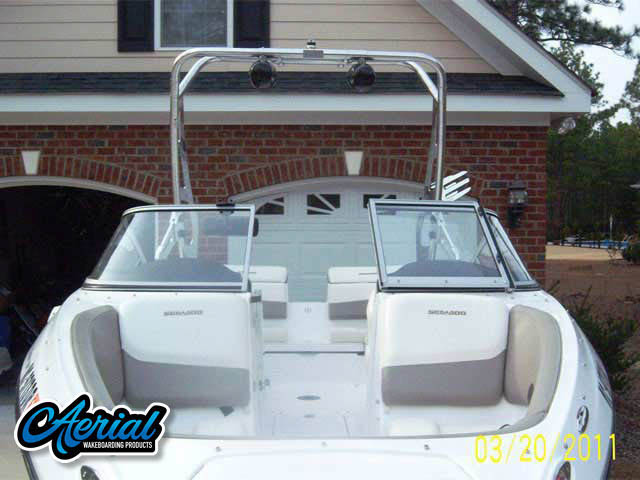 Sea Doo 210 Challenger SE Wakeboard Tower, speakers, racks, bimini