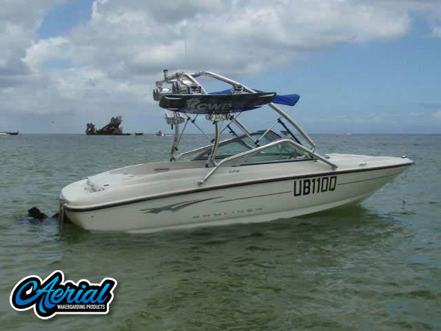 2009 Bayliner 175 Bowrider Wakeboard Tower, speakers, racks, bimini