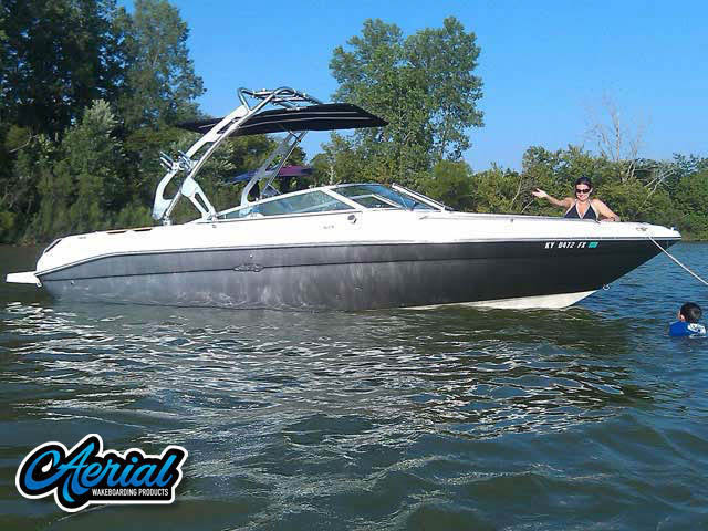 Aerial FreeRide Tower on a 1993 Sea Ray 240BR boat
