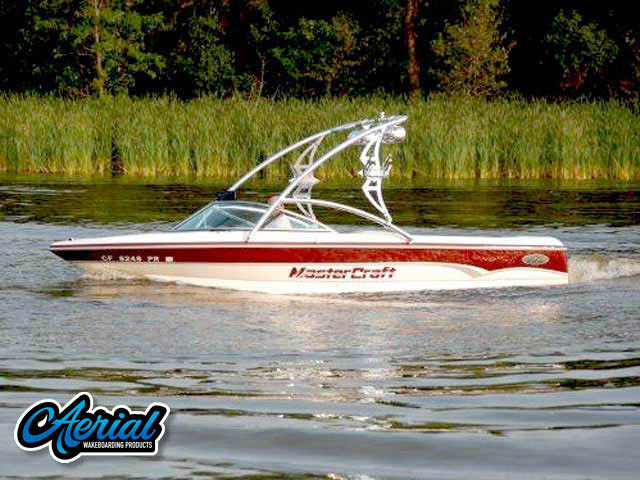 Assault Tower Wakeboard Installed on 2000 mastercraft prostar 190 Boat