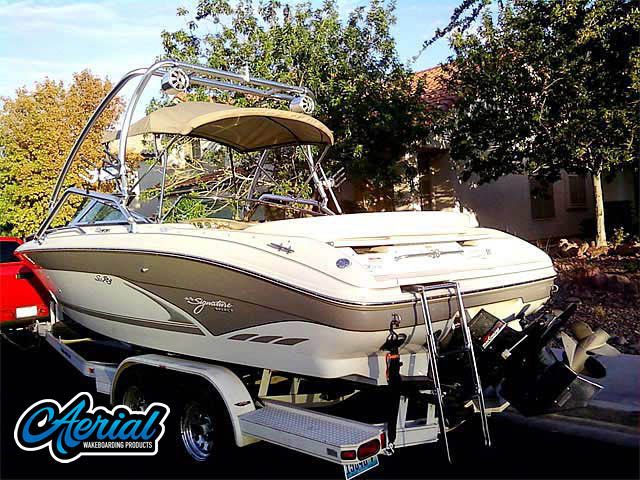 Wakeboard tower for 1998 Sea Ray 230 Signature Select with Airborne Tower