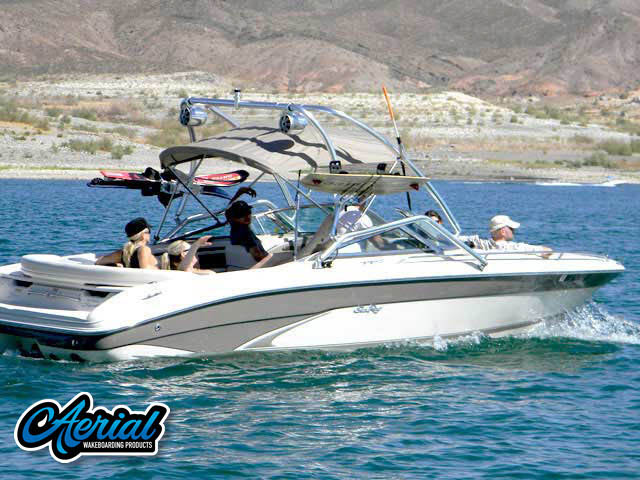 1998 Sea Ray 230 Signature Select Wakeboard Tower, speakers, racks, bimini