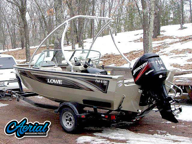 Wakeboard tower for 2005 lowe fish and ski with Ascent Tower