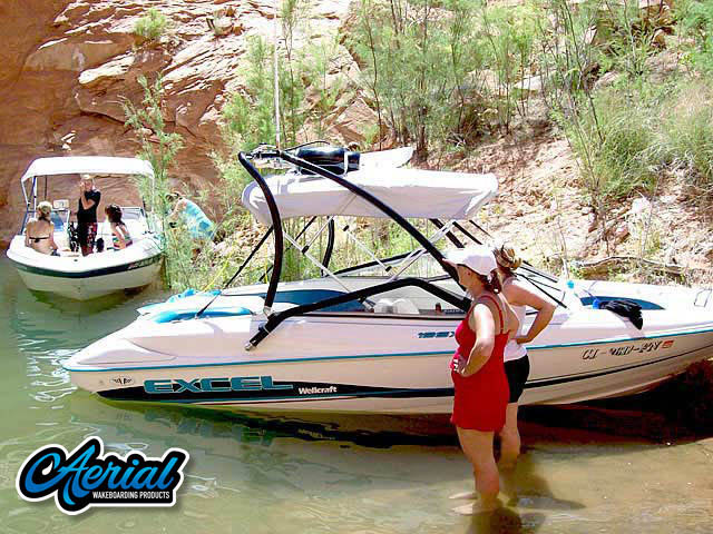 Wakeboard tower for 1997 Wellcraft excel 19ft with Airborne Tower