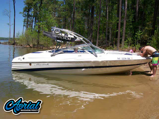 2005 Mariah SX22 Wakeboard Tower, speakers, racks, bimini