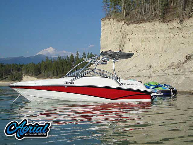 Wakeboard tower for 2010 Campion Alante545 with Airborne Tower