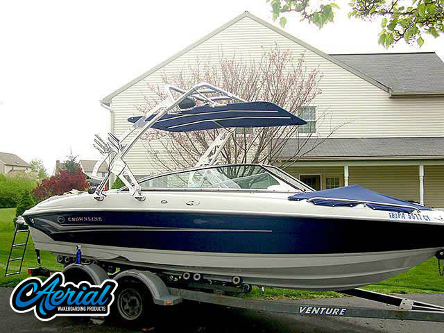 Wakeboard tower for 2004 Crownline 220 with FreeRide Tower