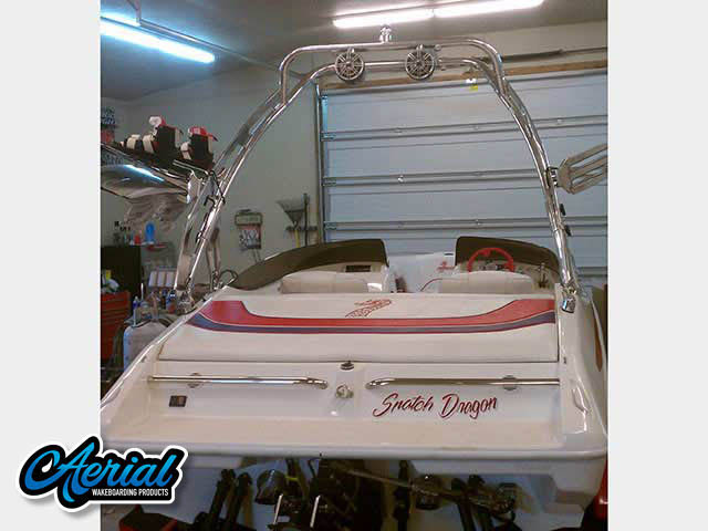 99 Nordic Sprint Wakeboard Tower, speakers, racks, bimini