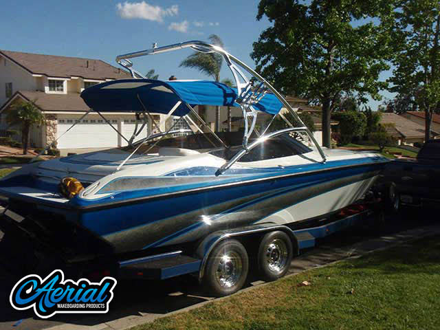 96 Nordic RAGE 25' wakeboard tower, speakers, racks, bimini & lights