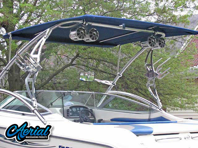 1994 Stingray 656ZX Wakeboard Tower, speakers, racks, bimini