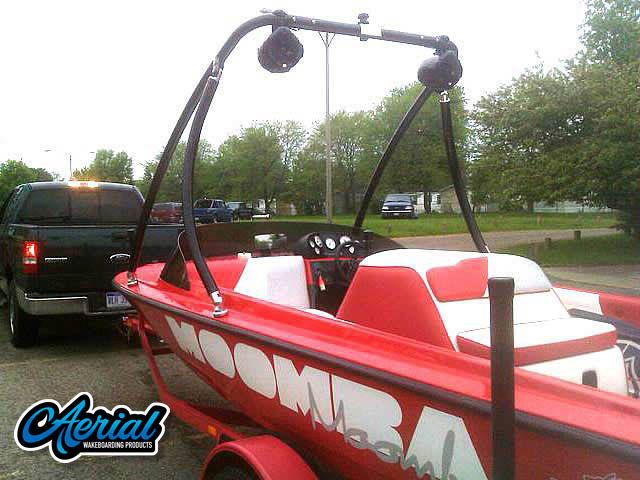 Wakeboard tower for 1997 Moomba Boomerang with Ascent Tower