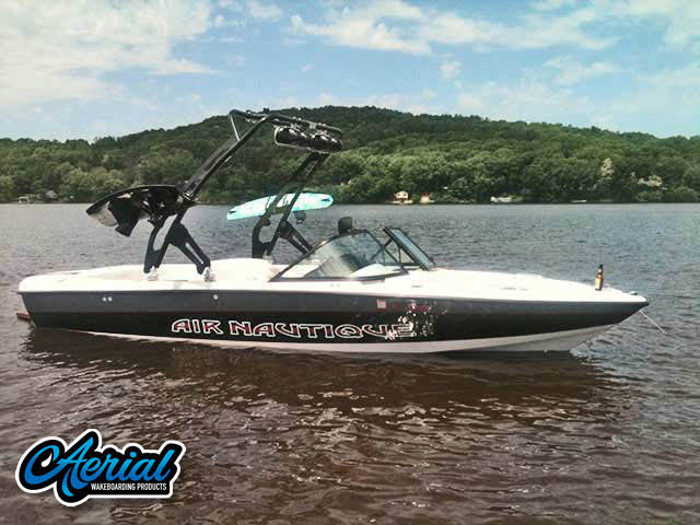 1998 Air Nautique Wakeboard Tower, speakers, racks, bimini
