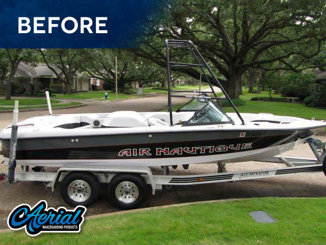 FreeRide Tower Wakeboard Installed on 1998 Air Nautique Boat