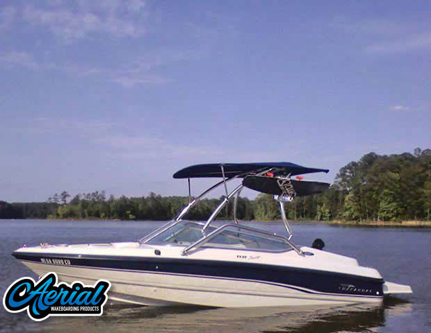Wakeboard tower for 1994 Chaparral 1930 SST with Airborne Tower
