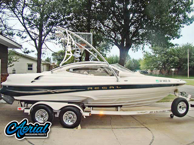 Wakeboard tower for 2001 Regal 2100LSR with Assault Tower