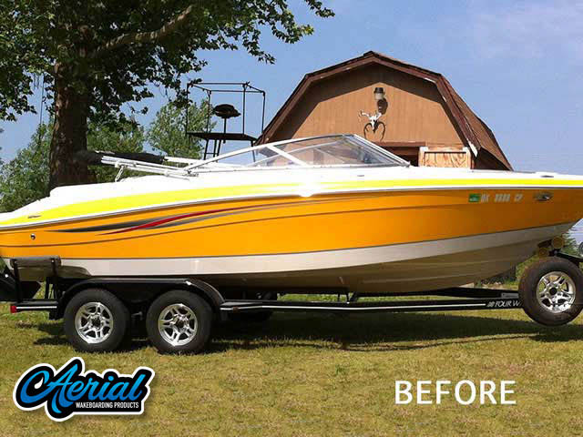 2008 Four Winns 210 Horizon Wakeboard Tower, speakers, racks, bimini