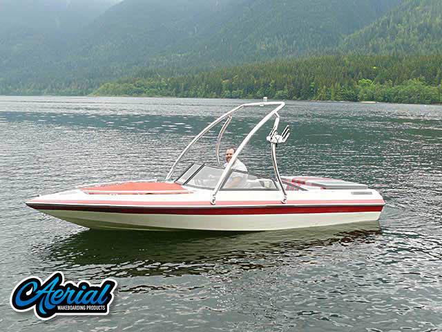 Ascent Tower Wakeboard Installed on 1989 Reinelle 180s Boat