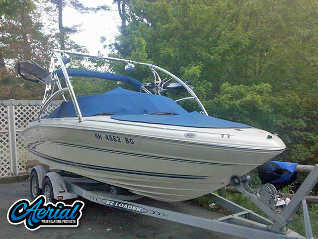 1999 Sea Ray 190 Bowrider Wakeboard Tower, speakers, racks, bimini