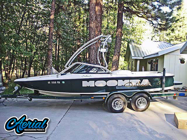 Wakeboard tower for 1997 Moomba Outback with Airborne Tower