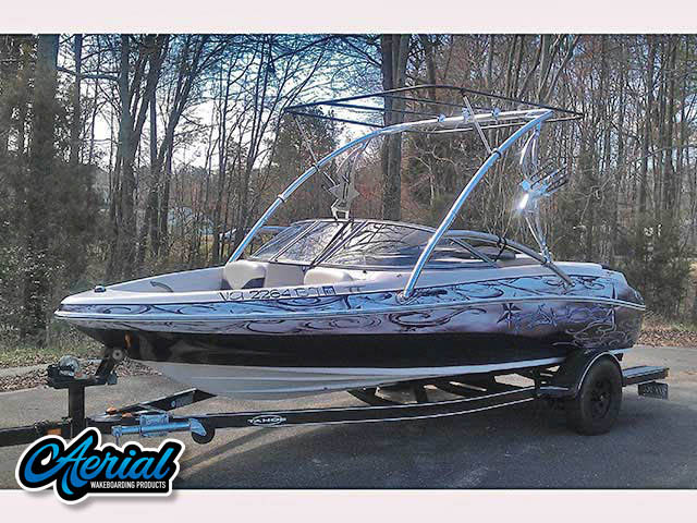 Wakeboard tower for 2005 Tahoe Q4 boats by Aerial Wakeboard Tower Products