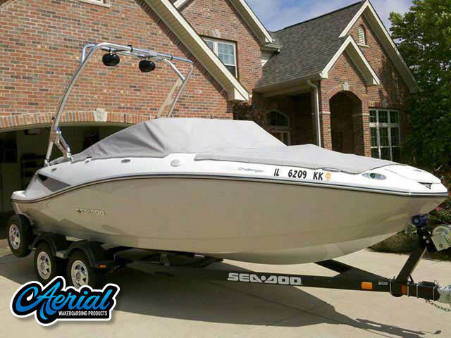 2010 Seadoo 210 Challenger SE Wakeboard Tower, speakers, racks, bimini