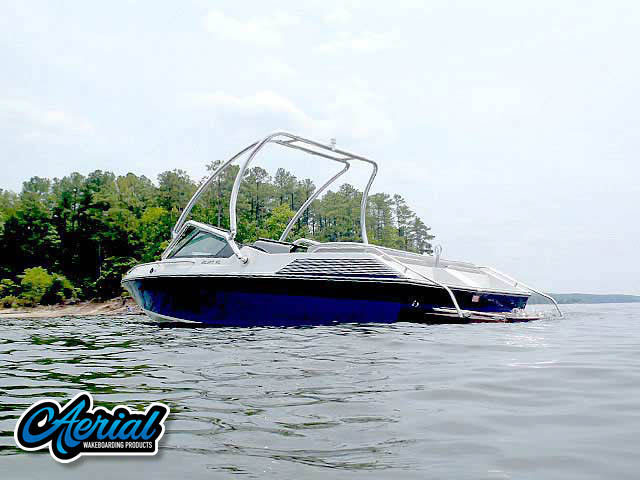 Wakeboard tower for 1986 Wellcraft with Airborne Tower
