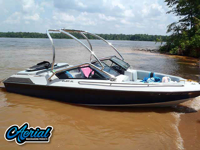 1986 Wellcraft Wakeboard Tower, speakers, racks, bimini