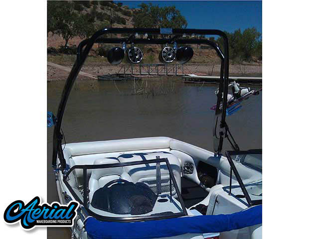 1998 Tige 2200iwt Wakeboard Tower, speakers, racks, bimini