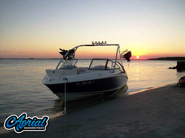 Wakeboard tower for 2005 Yamaha 230 SX with Assault Tower