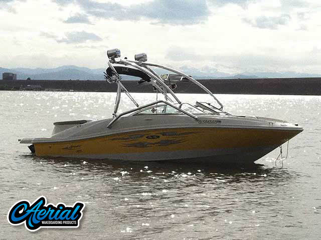 Wakeboard tower for 2007 Sea Ray 185 Sport with Airborne Tower